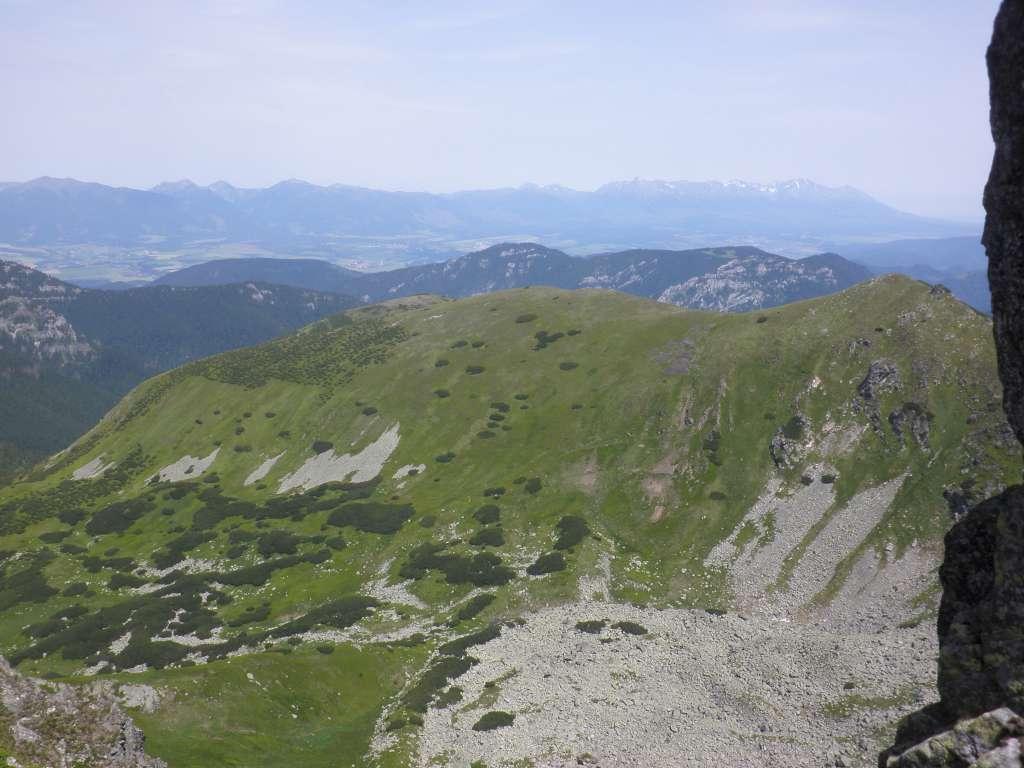 výhľad na Tatry z Ďumbiera-1024