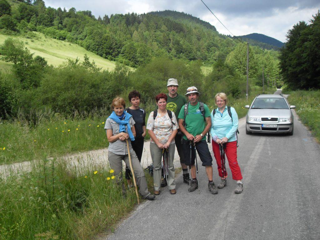Rajecká Lesná - Kýčera - Kunerad - 14.6.2014